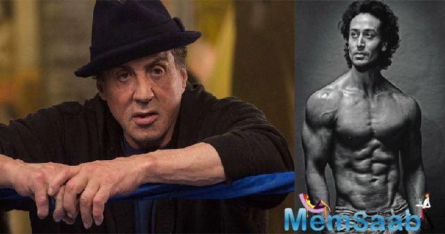 Tiger will step into the shoes of Hollywood star Sylvester Stallone for the remake