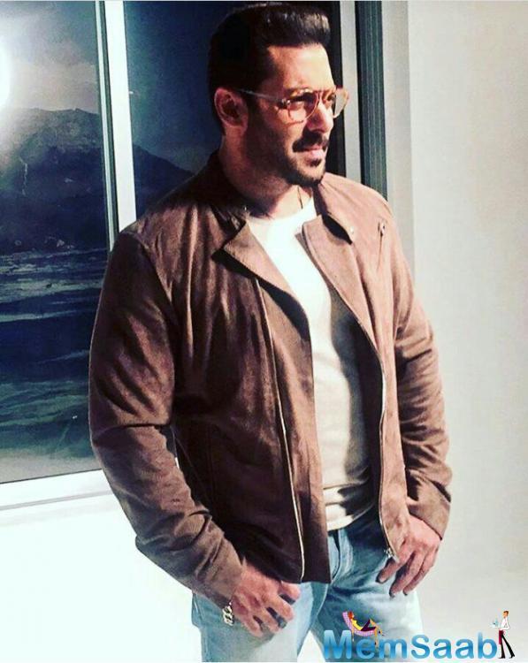 Salman will soon be seen in Ali Abbas Zafar's 'Tiger Zinda Hai' opposite Katrina Kaif. The film releases sometime around Christmas holidays.
