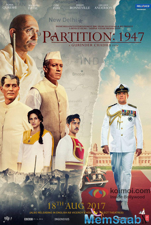The makers of 'Viceroy's House' have changed the title of their film to 'Partition 1947' helmed by Gurinder Chadha.