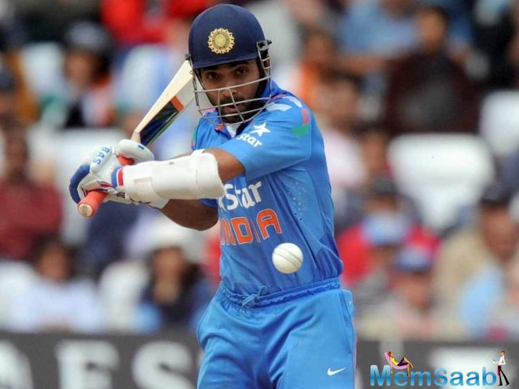 Rahane, who has always been known for his delicate touch and perfect timing, has scored in all the three games of the series so far.
