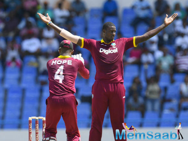 WI bowlers did a fine job with the ball as they did not take into account the Indian batsmen to free their arms and picked up regular intervals.