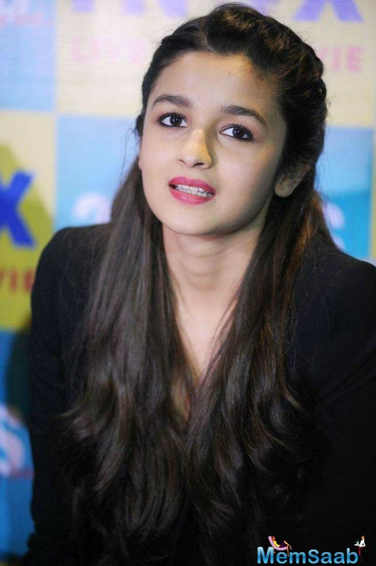 Alia says critically acclaimed director Meghna's passion is infectious.