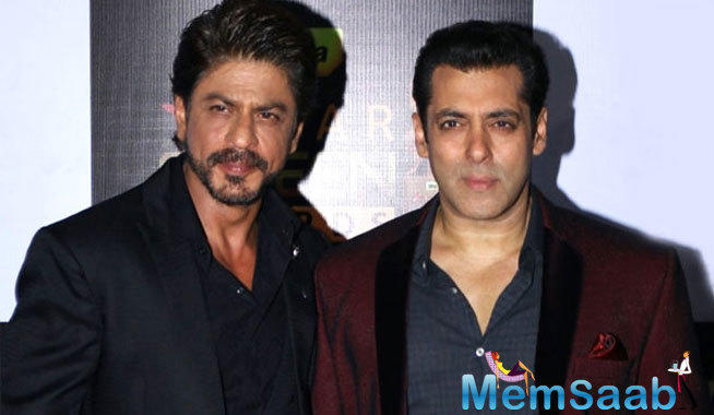 After Shahrukh did a cameo in Salman Khan's recently released movie, 'Tubelight', now Salman in talks for a song in Aanand Rai's film, which starring Shahrukh.