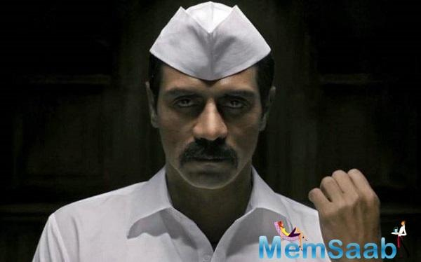 Arjun Rampal is raising the bar with his gangster look in his upcoming movie, 'Daddy'.