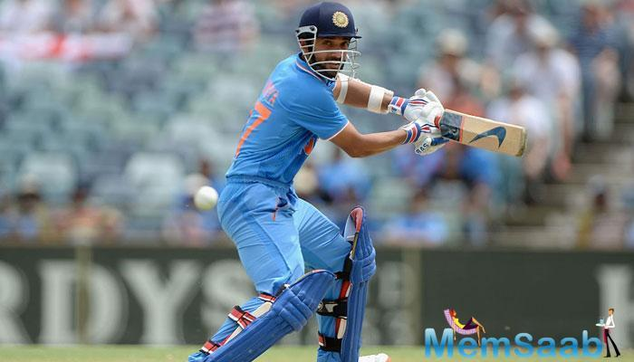 Indian opener Ajinkya Rahane has had a successful West Indies series so far.