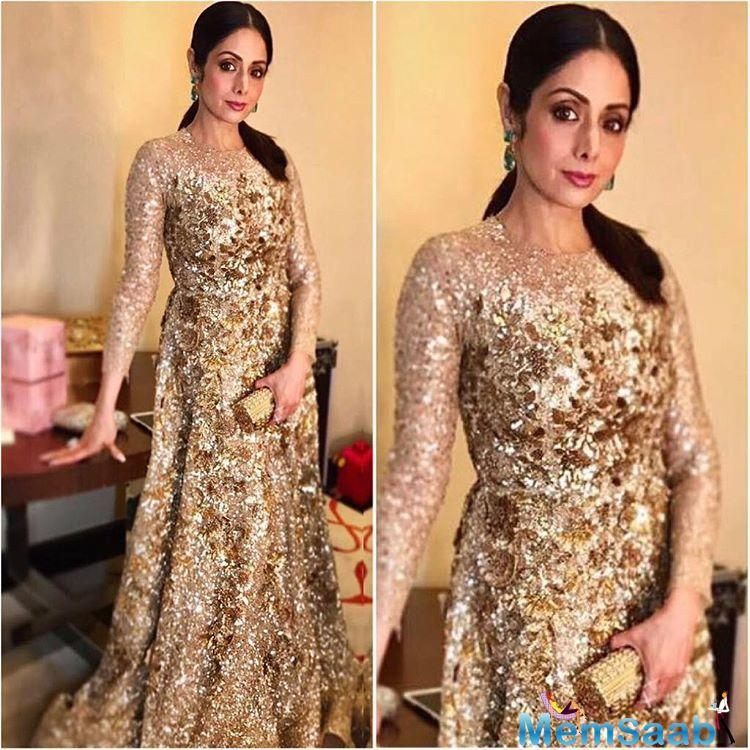 Just like any other mother in the world, Sridevi, too, is both nervous and excited for her daughter.