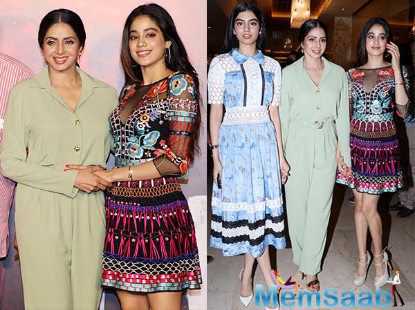 Sridevi feels that her daughters, who are from the current generation, understand fashion better.
