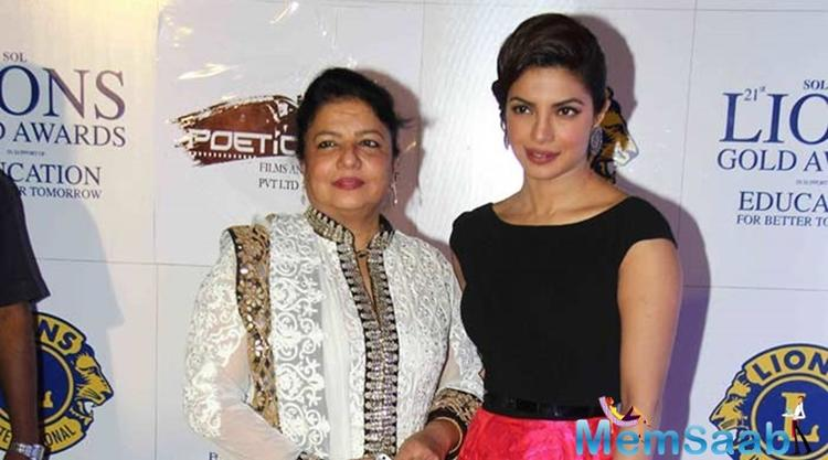About Priyanka's biopic mother Madhu said,