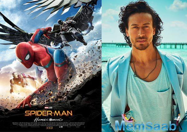 Tiger Shroff, who has lent his voice for the Hindi version of 'Spider-Man: Homecoming', has found a fan in none other than the original spiderman himself—Tom Holland.