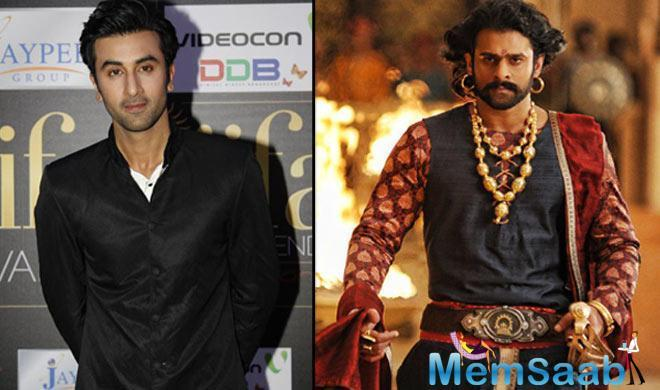 When the Jagga Jasoos star was asked about his favourite performers in the recent times, he revealed that he is dazzled by the charm of the 'Baahubali' actor.