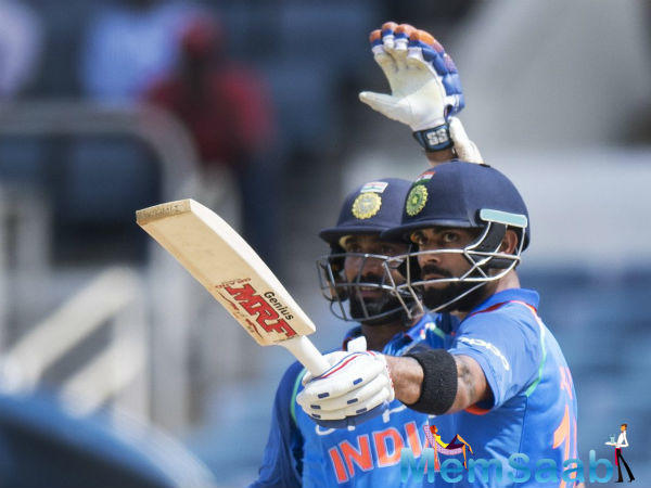 Kohli scored 111 at Sabina Park in Kingston, Jamaica, securing victory in style with a six as India won at a canter with 79 balls to spare to take the five-match series 3-1.