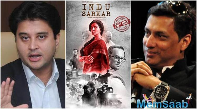Filmmaker Madhur Bhandarkar has turned down Congress leader Sanjay Nirupam's demand to screen his upcoming film 'Indu Sarkar' before it is screened for the censor board.
