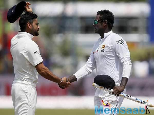 Sri Lanka last hosted India in 2015 for a three-match Test series, which India won 2-1.