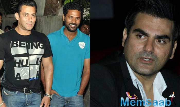Salman has now asked his old friend Prabhudheva to step in as the director of Dabangg 3.