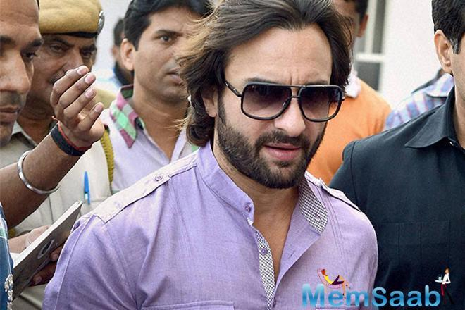 Saif becomes the first major Bollywood star to lead Netflix series Sacred Games
