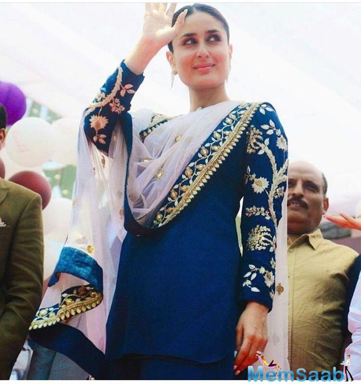 When inquired about her diet, Kareena said,