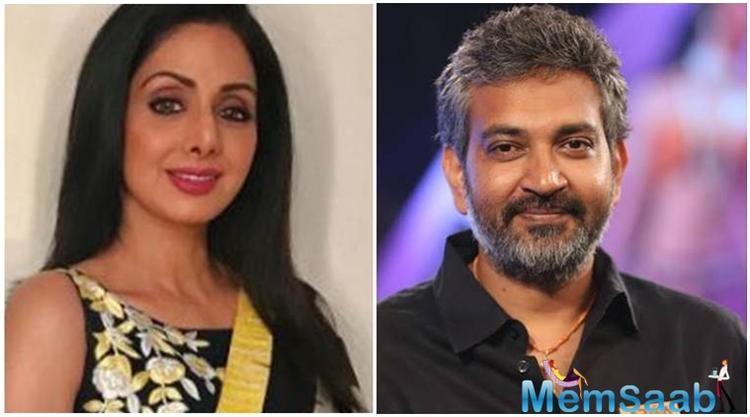 It all started when Rajamouli, without malice, spoke in an interview about why Sridevi couldn't act in Baahubali.
