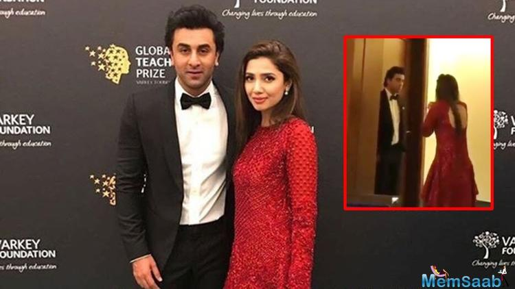 But feeling rather happy that she finally got to meet Ranbir, Mahira herself put all speculations to rest by clarifying that she was just catching up with Ranbir.