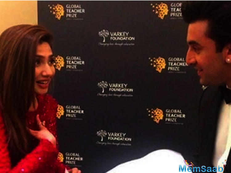 It wasn't too long ago when a video of Bollywood heartthrob Ranbir Kapoor and Pakistani actress Mahira Khan engaging in an animated conversation backstage at an event.