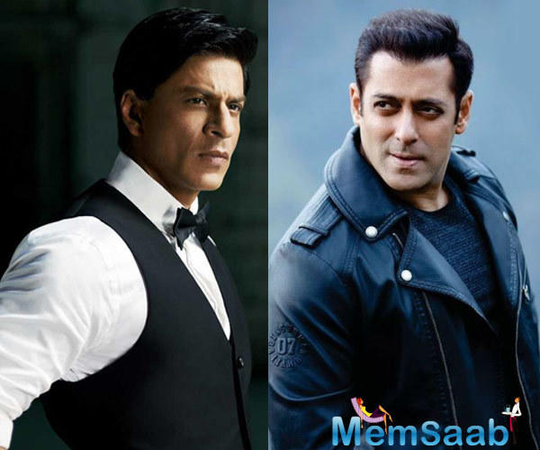 The two recently shot for the film, where Shah Rukh plays a vertically challenged man.