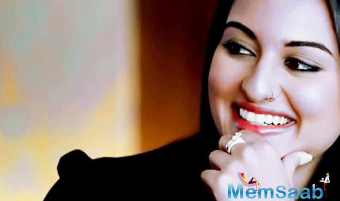 """Commenting on being associated with the film Sonakshi said, """"I'm excited to be a part of this project."""