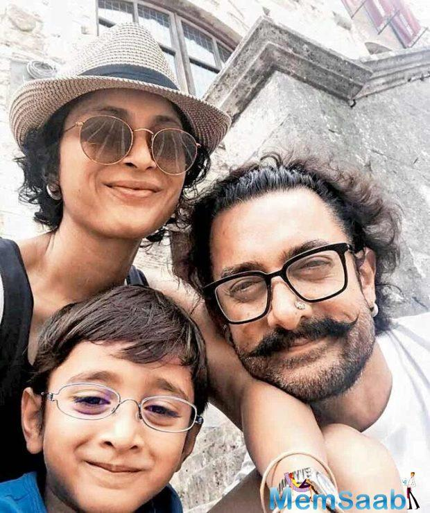 Aamir takes a break from Thugs of Hindostan, flies off to Italy with family!