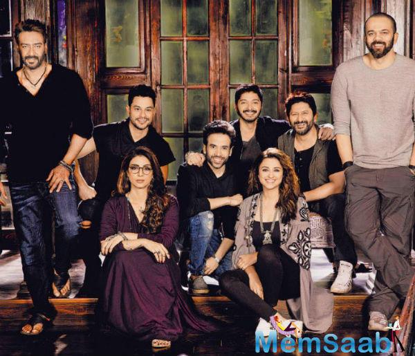 Tabu next will be seen in Bollywood most popular comedy film Golmaal four franchise 'Golmaal Again'.