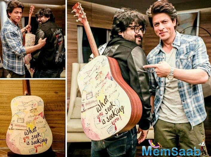 SRK's upcoming flick 'Jab Harry Met Sejal' songs have been composed by Pritam.