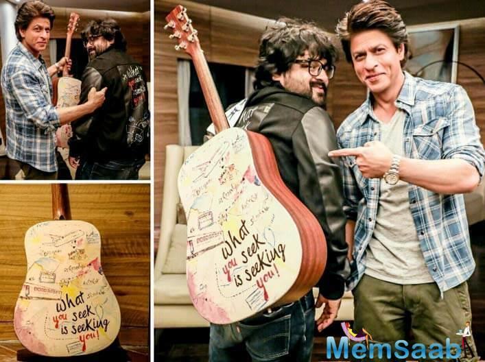 SRK's upcoming flick 'Jab Harry Met Sejal' songs have been composed by Pritam.