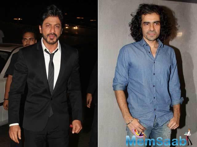 Director Imtiaz Ali, who has teamed up with Shah Rukh Khan for the first time in 'Jab Harry Met Sejal', finds easy to work with SRK.