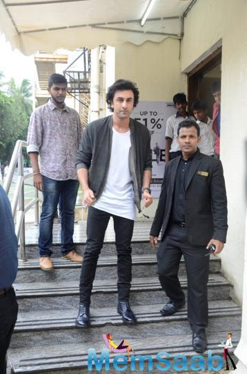 Ranbir, who plays Dutt in the movie, says doing the biopic was daunting initially.