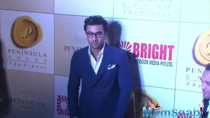 Though Ranbir seems to have got the look right, he is extremely nervous about the film.
