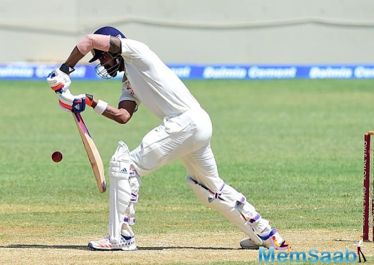 On his comeback, Rahul scored a quick fifty in the two-day warm-up match in Moratuwa, but he said he was nervous making his comeback after such a long lay-off.