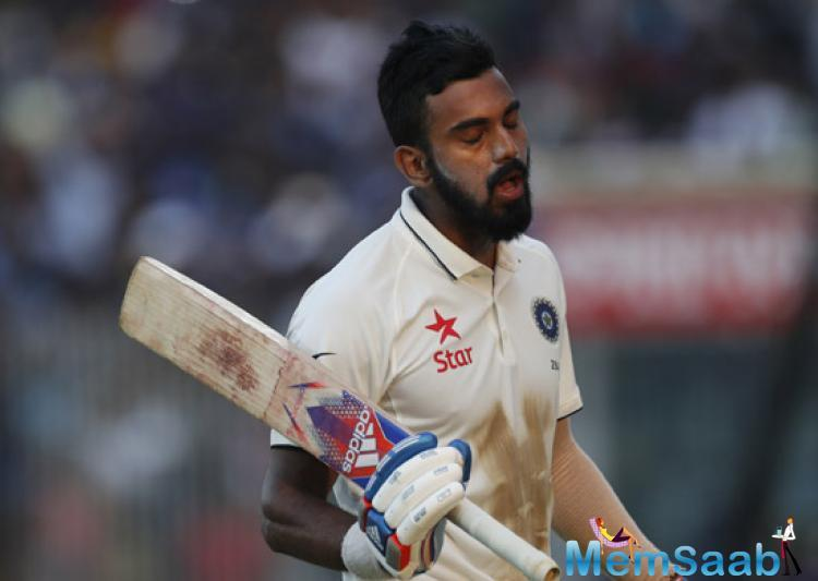 The Karnataka batsman had just arrived out of a four-month long gap after he hurt his shoulder during the four-match series against Australia.