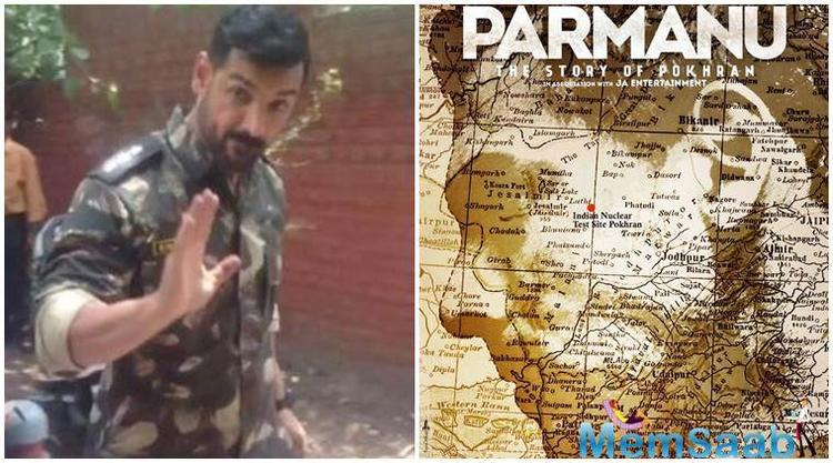 "Parmanu – The Story Of Pokhran"" is grounded on the nuclear test conducted at Pokhran in 1998 when BJP leader Atal Bihari Vajpayee was the Prime Minister."