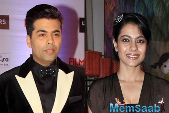 When asked if she is open to work with Karan, Kajol says,