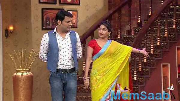 Bharti Singh entered the show and there were rumours that Sumona was insecure of her role.