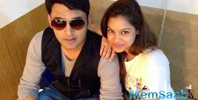 Sumona Chakravarti who plays Kapil Sharma's on screen wife in his show The Kapil Sharma Show opens up how the man has a lot of pressure.