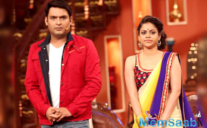 "When Sumona asked about Kapil's health, she said, ""Yes his (Kapil's) health has not been very good and the name of the show is Kapil Sharma."