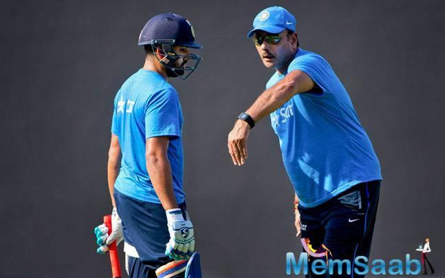 A key implementation on, Shastri's part is how the batters are now ever ready to bat in the heart. This has zero to do with batting order, instead a new practice of warming up before running down to the center.