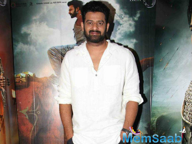 "Apparently, the makers of Prabhas' next want to cash in on the actor's recent rise to supremacy.  ""Baahubali has opened doors for an international market."