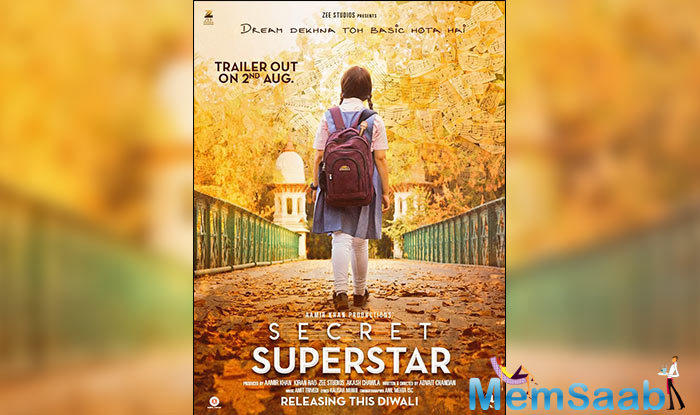 The movie is based on the life of a child who aspires to be a singer. Aamir interestingly will neither be playing the lead in the movie nor a cameo.
