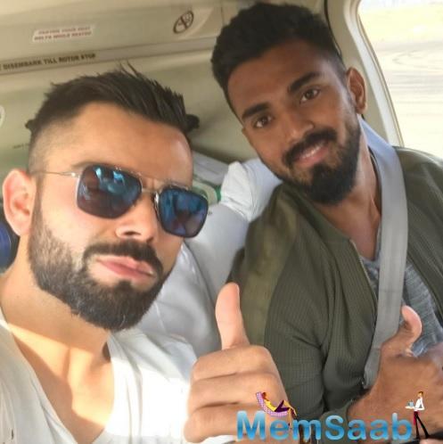Injury prone India opener K L Rahul on Thursday termed captain Virat Kohli's backing as a massive