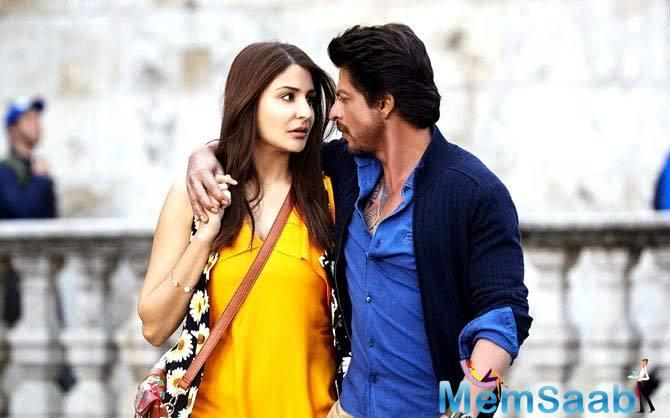 According to movie critic and analyst Taran Adarsh, SRK-Anushka starrer  'Jab Harry Met Sejal' earns only 15.25 crore on the first day at the domestic box-office.