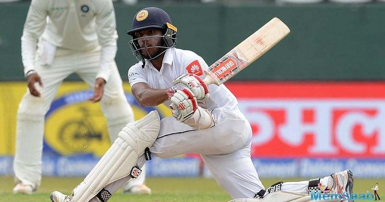 Kusal Mendis eventually reached his third Test century. But, soon after, Hardik Pandya provided the breakthrough as he removed the centurion for 110 runs.