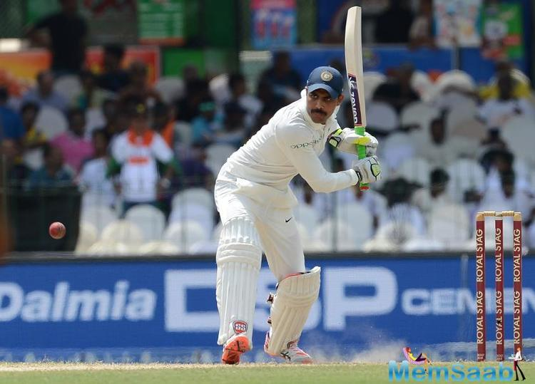 In the recently-concluded second Test, which India won by an innings and 53 runs, Jadeja contributed an unbeaten 70 and also took seven wickets, including a five-for.