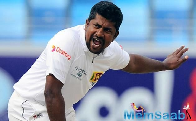 Herath was injured in the first Test while fielding, but recovered sufficiently to play in the second Test.