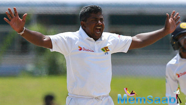 Veteran left-arm spinner Rangana Herath has been ruled out of Sri Lanka's third Test against India owing to back pain.