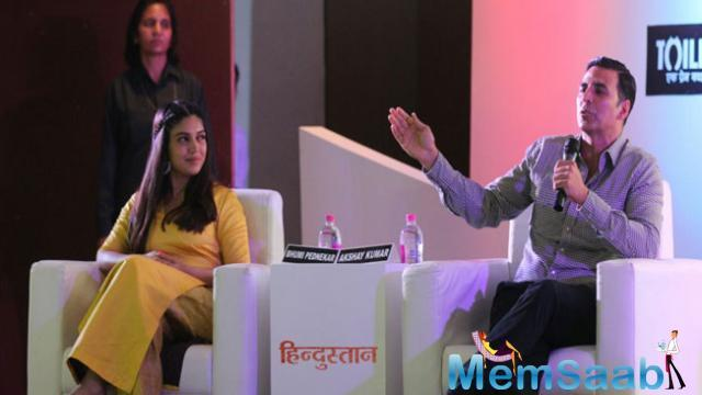 During the promotional event of the film, he said, Why is talking about toilet still a taboo in India?