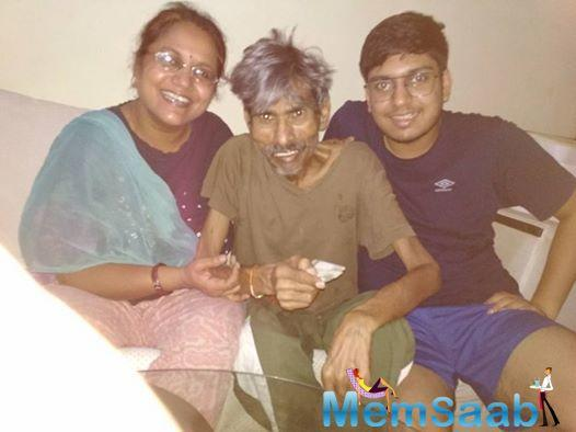 On Wednesday, his son Rishabh Panchal posted a picture of him with his parents wishing them on their 26th marriage anniversary.